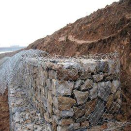 青岛堤坝防护水利工程石笼网厂家 石笼网 六角格宾网