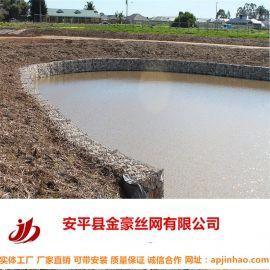 河渠格宾网直销山东生态石笼网