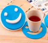 笑脸硅胶杯垫