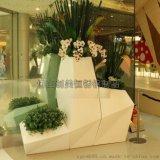 【定做】酒店装饰花盆 不锈钢花瓶  质量稳定 美观持久