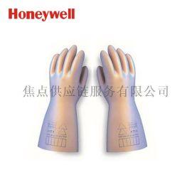 霍尼韦尔高性能天然防电乳胶电工绝缘手套7.5kv 2091912 9 码/10码
