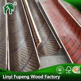 临沂厂家批发直销直径30cm-100cm圆形圆柱木制建筑模板覆膜板