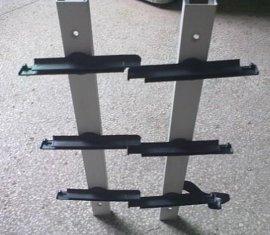 供應澳洲款鋁塑6英寸玻璃百葉窗支架