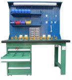 復合桌面帶掛板燈架配抽屜式工具櫃組合重型工作臺(MZ-116)