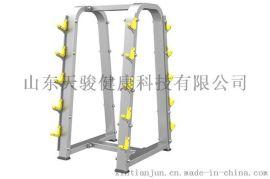 杠铃架杠铃杆存放支架托架杠铃片架子举重架子杠铃专放架