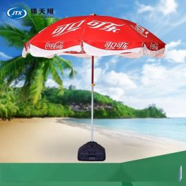四川中柱广告伞定做 四川广告雨伞工厂 四川庭院雨伞