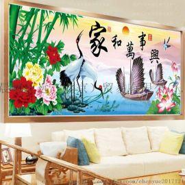 北京晨越恒远钻石画提升生活品质 开启简单投资之路