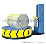 山东圆筒式缠绕膜包装机上海二次圆裹包缠绕机