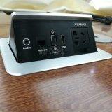 VLAMAR弹起式桌面插座 多功能桌面插座