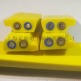 2芯1.5平方asi扁平异形黄色线缆-上海览通
