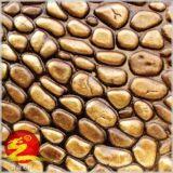 上海自然特色鹅卵石 彩色艺术压膜地坪