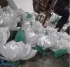 厂家直销专业定制布制莲花 舞台道具摆件 白色莲花 户外装饰品