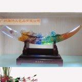 琉璃工艺品 琉璃纪念品 大小号琉璃奖杯 广州滕洪工艺品有限公司琉璃工艺品出售