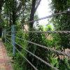景区公路护栏厂家@景区防撞护栏@柔性缆索护栏网