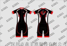 专业套装轮滑版车队版自行车服长袖套装服男款定制