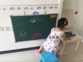 中山单面磁性挂式绿板7粉笔书写小黑板7留言写字板