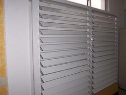 多功能铝合金百叶窗-电动铝百叶