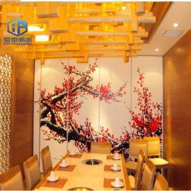 惠州客廳隔斷餐廳活動屏風 中式移動門定制批發供應