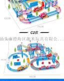 托马斯套装玩具益智多层百变轨道车儿童大冒险电动火车