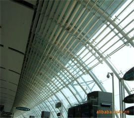 【佛山新景】廠家批發定制戶外鋁合金遮陽篷板雨篷百葉隔斷
