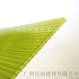 6mmpc阳光板 黄色阳光板 透光性能强 厂家直销