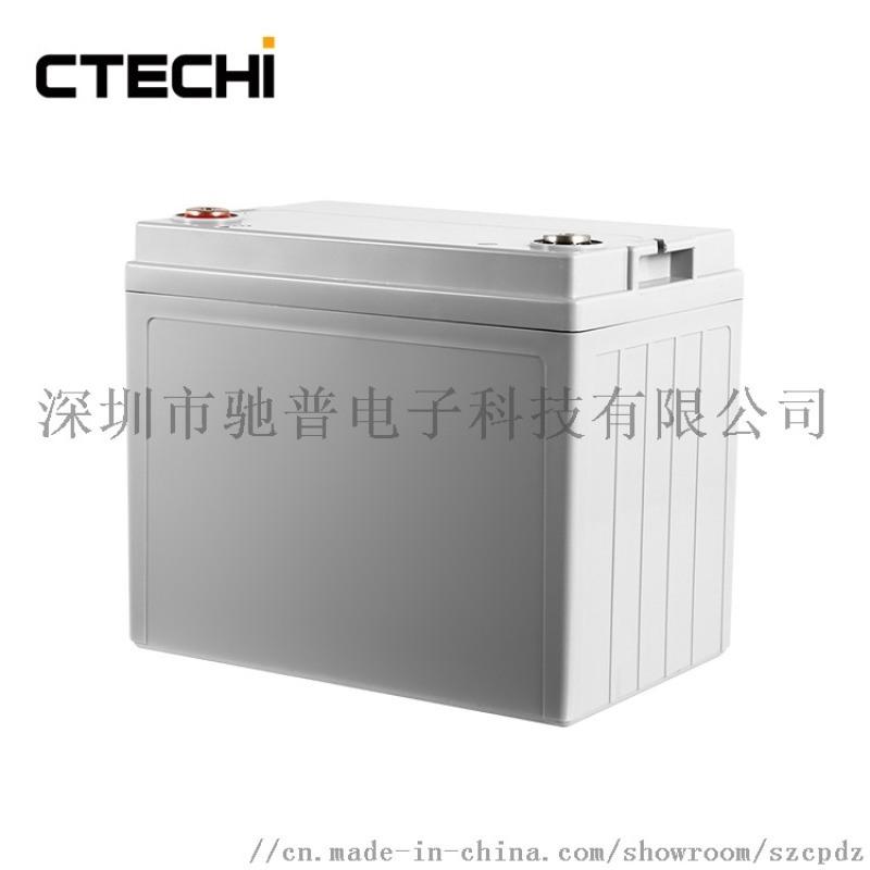 厂家供应12v100ah升降机电池可充磷酸铁锂电池图片