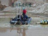 移动方便投资最少的岸边采砂小型抽沙机