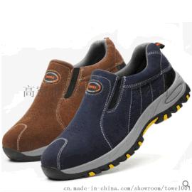勞保鞋男冬季透氣防臭鋼包頭鋼板防砸防刺穿耐磨安全工地工作工鞋