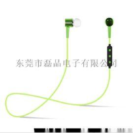 入耳式運動藍牙耳機4.2手機耳塞防汗通訊設備麥克風廠家批