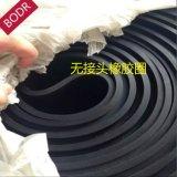 实力厂家供应/普通丁苯橡胶 黑色耐磨橡胶垫/车间橡胶铺垫