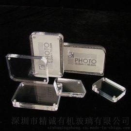 亚克力相框加工定制logo透明亚克力展示架创意有机玻璃相框混批