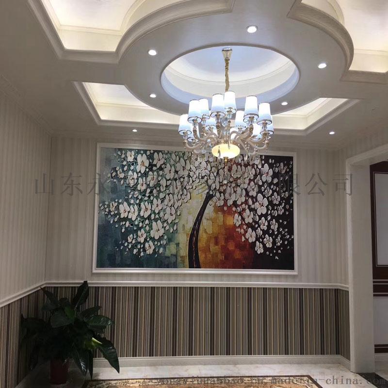 600永逸环保竹木纤维集成墙板快装墙面背景墙吊顶图片