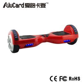 帝百伦深圳厂家直销6.5寸两轮平衡车电动扭扭车两侧带灯智能平行车