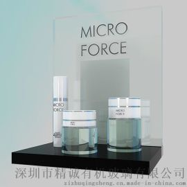 厂家直销亚克力展示架 高档压克力化妆品架 有机玻璃护肤品收纳架