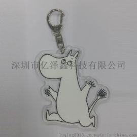 亚克力钥匙扣 吊牌 亚克力动漫钥匙扣挂件出口日本