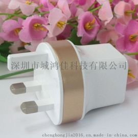 usb充電器頭 雙口usb手機充電器 平板手機通用二合一手機充電套裝