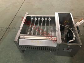 藍天博科環保無煙金剛棒燒烤爐黑金直管三廂電大型商用燒烤爐