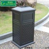 广东垃圾桶厂家专业生产ZL01欧式铸铝垃圾桶