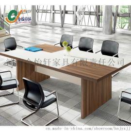 金彩家俱供应加厚简约板式会议桌,会议桌可定制 大品牌 品质保证