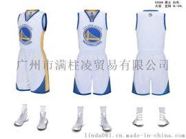 NBA球衣勇士队短袖套装大人儿童球衣个性定制