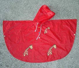 红色PVC斗篷 (50361)