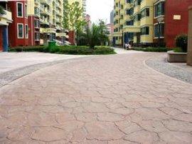 Chinabes-025壓印彩色水泥地坪