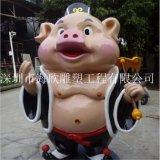 供应孙悟空 猪八戒 沙僧 白龙马 唐僧西游记卡通真人雕塑玻璃钢工厂