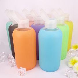 手提硅胶玻璃水瓶/糖果果色果冻杯 学生普通玻璃果冻杯广告杯定制 举报