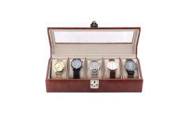 東莞皮盒廠家定做高端手表盒收納盒