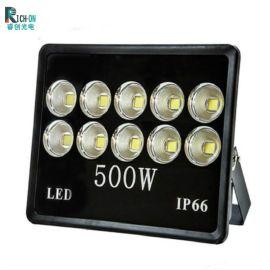 500W立体聚光黑色投光灯,球场,广场,道路照射灯具