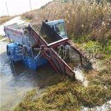 辽宁小型水草收割机械 皇太极公园保洁捞草船