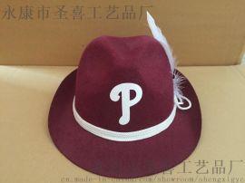 礼帽 毛毡广告帽 国旗帽子(SX622h-28)