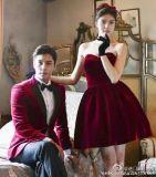 情侣款礼服Couple Tuxedo—意大利顶级定制面料ARISTON?Napoli(阿里斯顿)
