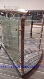 316#不锈钢建筑护栏立柱